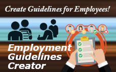 Create Employment Guidelines