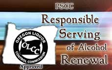Renewal OLCC Alcohol Service Permit Training